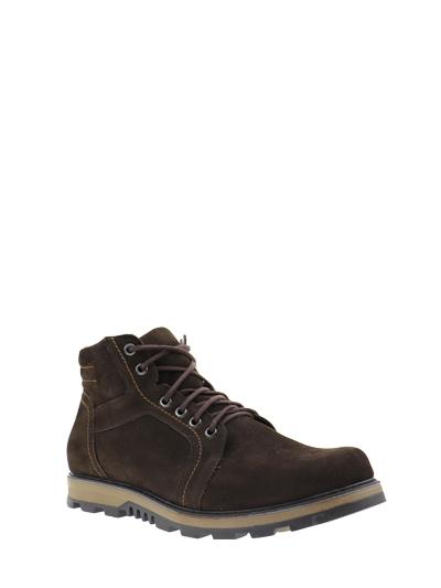 Модель Мужские ботинки 02-27 ч (коричневые)