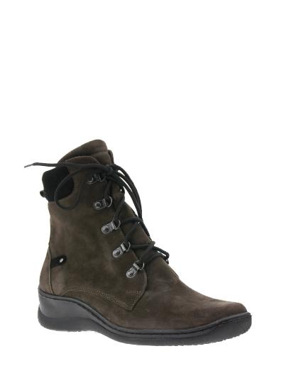 Обувь женская сезон Весна-Осень Коричневые ботинки 07-5