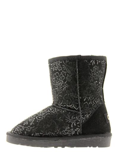 Обувь детская сезон Зима QQ черн.